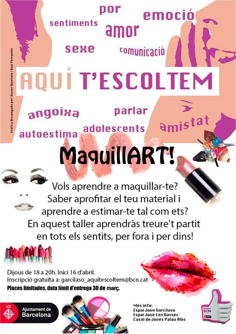 Cartell MaquillArtdef