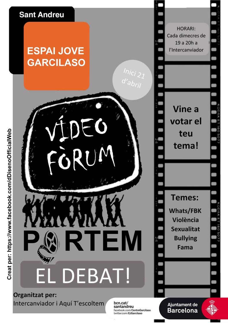 cartell videofòrum