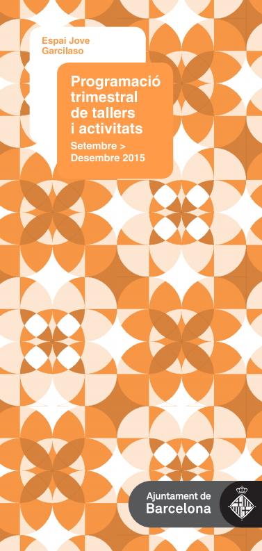 Agenda Garcilaso Tardor 2015