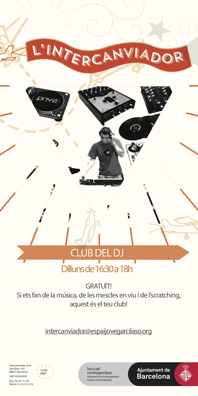 Cartell club del Dj