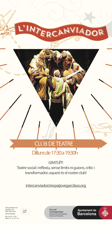 cartell club de teatre