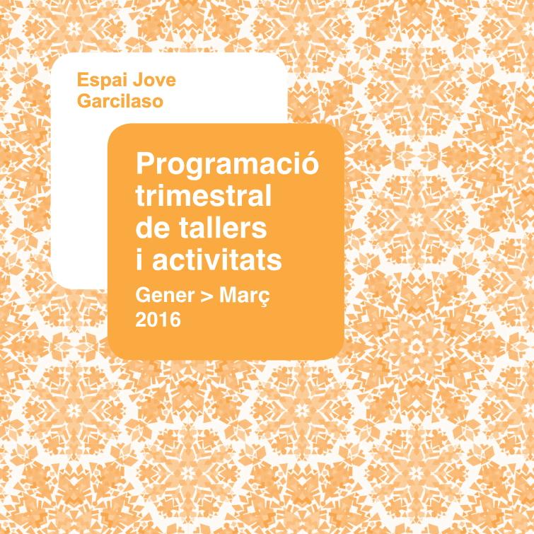 Programa de gener, febrer i març de 2016