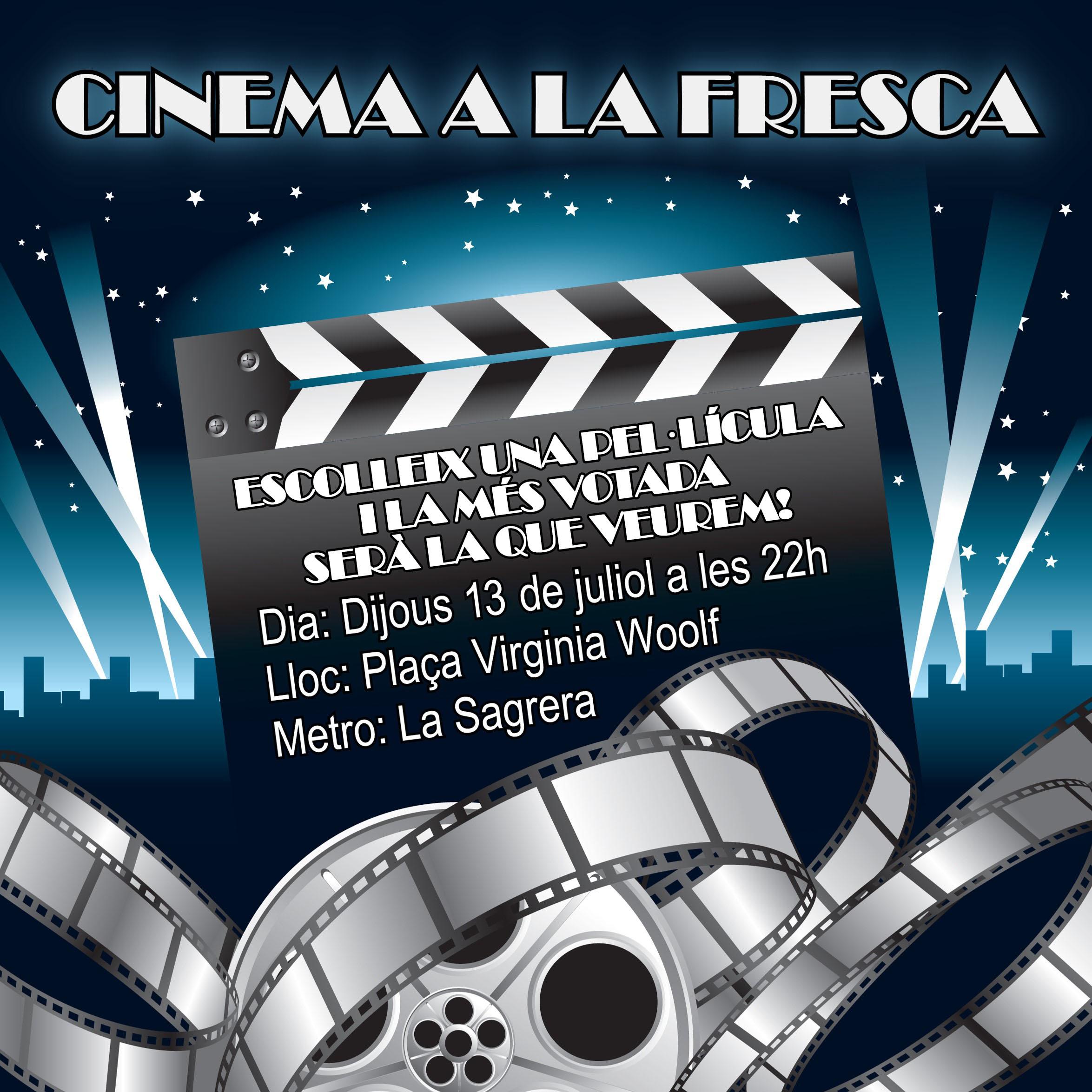 Vota una pel·lícula de Cinema a la fresca!