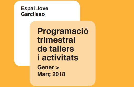 Activitats gener, febrer i març 2018